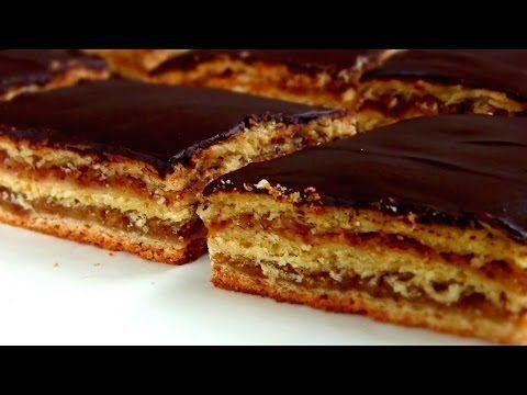 "Пирог ""ЖЕРБО"" / Пирог- торт с вареньем из песочно-дрожжевого теста - YouTube"