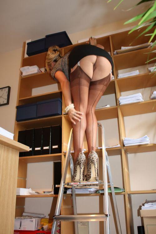Sorry, pantyhose ladder porn