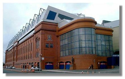 Ibrox Stadium - Glasgow Rangers