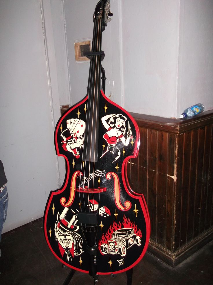 264 best images about rockabilly and upright bass on pinterest psychobilly girl bass and the. Black Bedroom Furniture Sets. Home Design Ideas