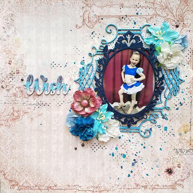A Stash of Pretty Paper: Blue Fern Studios - Wish