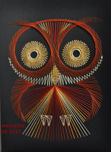 String Art - Owl by Wernakta