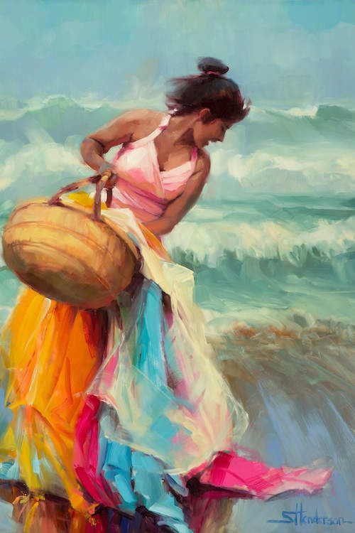 Brimming Over Canvas Wall Art by Steve Henderson