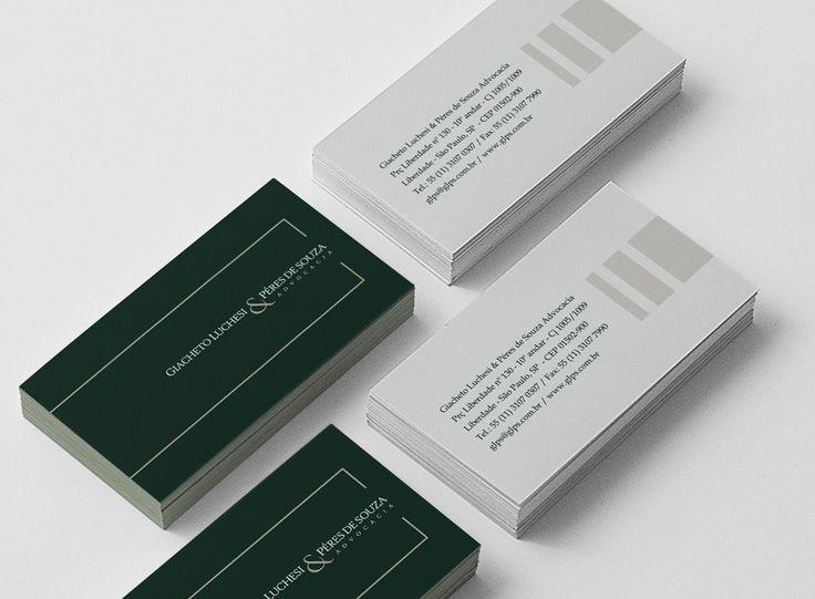 Cartão de Visitas Giacheto Luchesi & Péres de Souza Advogados