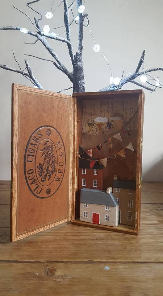 The Woodbines Festival - mixed media story box