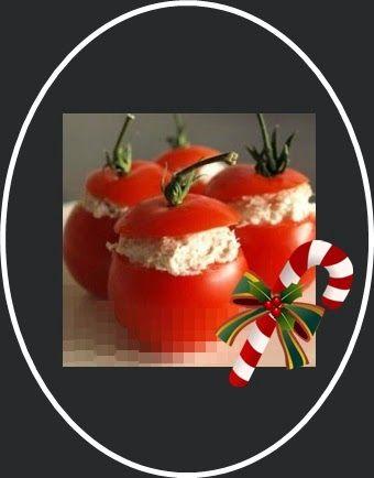 http://myhcriearte.blogspot.com.br/2014/12/aperitivo-tomate-recheado.html  aperitivo pro natal