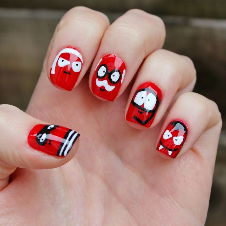 Nail Design Cakes: 44 Best Red Nose Day Ideas Images On Pinterest