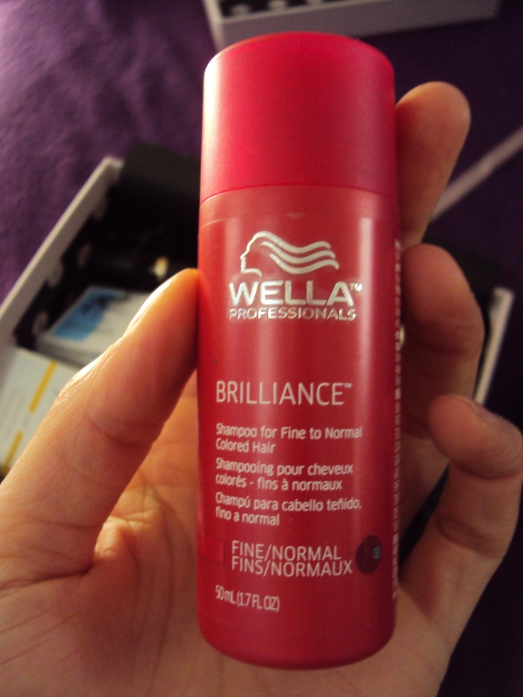 Wella the best color shampoo and smells so good at marion - Wella salon professional hair products ...
