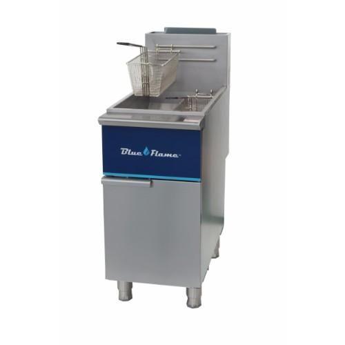 Commercial Kitchen 40 Lb Gas Deep Fryer Natural Gas