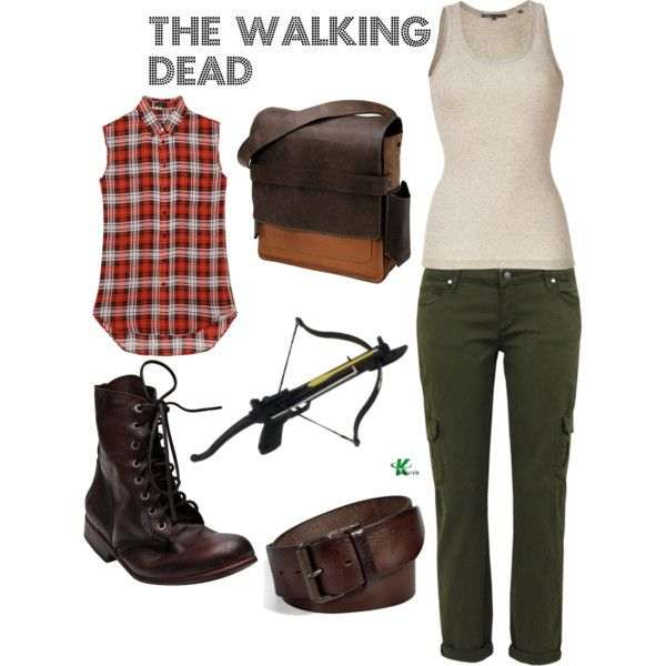 My creation inspired for a female by The Walking Dead characater Daryl Dixon..... I could rock this look... hehe