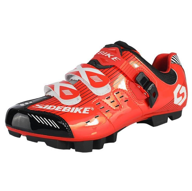 BOODUN Men Mountain Bike Racing Cycling Shoes Breathable  MTB Self-Locking Bicycle Shoes Zapatillas Zapato Ciclismo