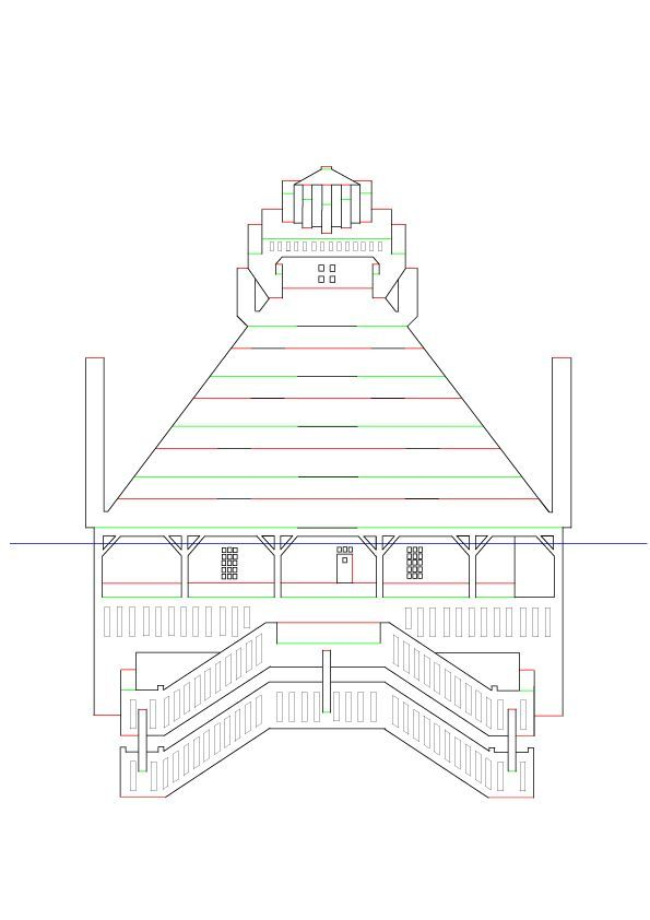 17 best images about origamic architecture on pinterest for Kirigami paper art