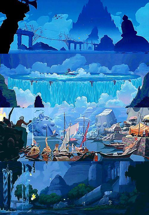 Visually breathtaking Disney movies:     7/?? - Atlantis: the Lost Empire