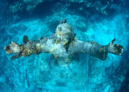 Christ of the Abyss - San Fruttuoso, Italy