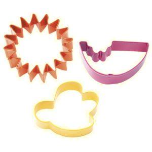 Wilton Picnic Cookie Cutter Set - Coloured Golda's Kitchen