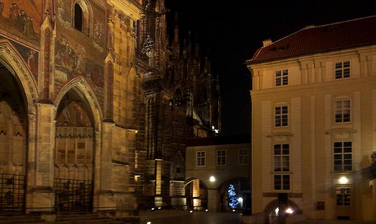 Third Courtyard of Prague Castle, Czech Republic