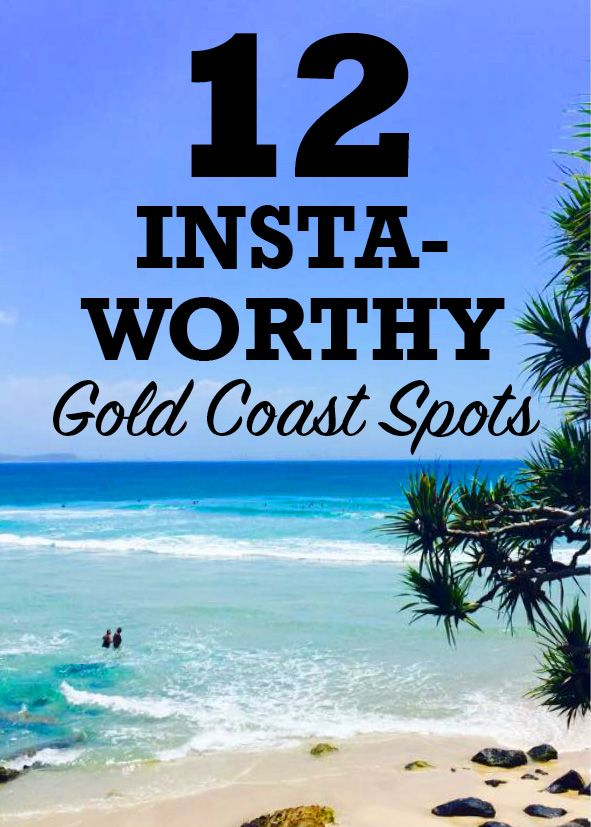 Here's some Gold Coast inspiration to get those much loved Instagram 'likes'. Because, if it's not on Instagram it didn't happen… Arm yourself with your phone and check out our top 12 Insta-worthy spots, including Surfers Paradise and much more!
