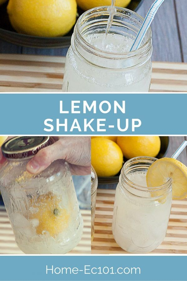 Lemon Shake-Up All of the fun of the county fair treat without the sweat, leaving the house or dealing with people!