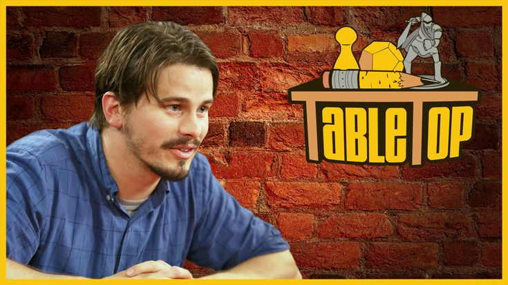 The latest episode of TableTop is here! Are you ready to play Roll For! It & Sushi Go with Jason Ritter, Jennifer Hale, and John Ross Bowie?