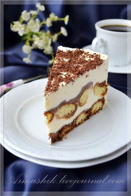 ВКУСНО С АРМУШИК - Торт-мороженое «Тирамису»