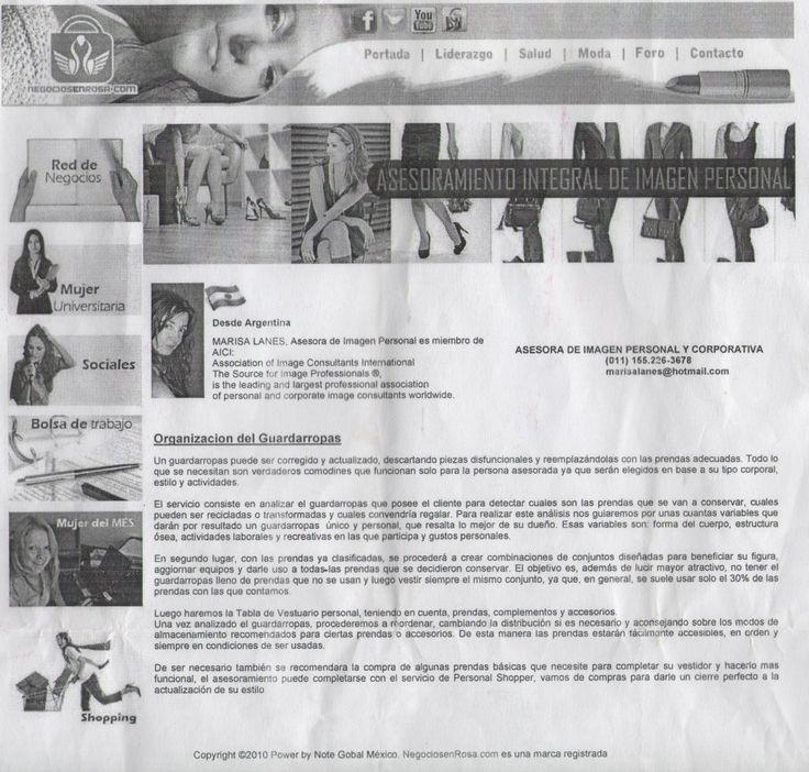 nota sobre Organizacion del Guardarropas.