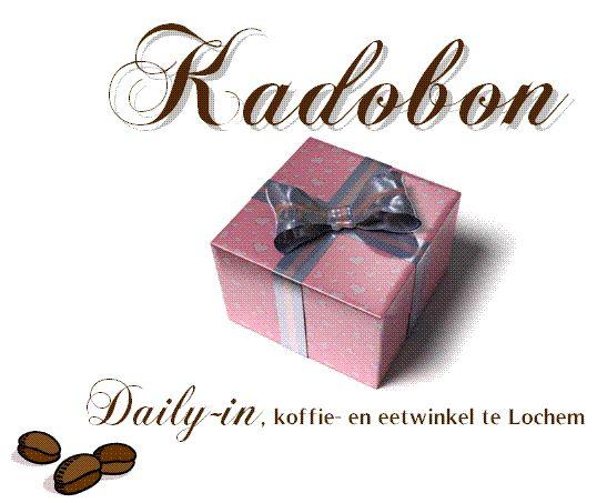 Daily-in | koffie- & eetwinkel - Kadobon
