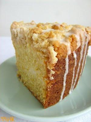 Meyer Lemon Coffee Cake