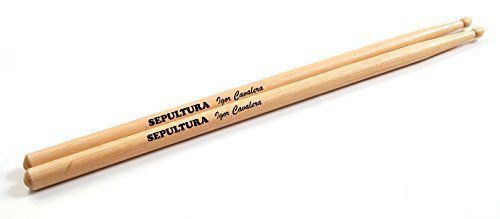 Sepultura Igor Cavalera Set of 2 Maple Drumsticks *** Visit the image link more details. Note:It is affiliate link to Amazon.