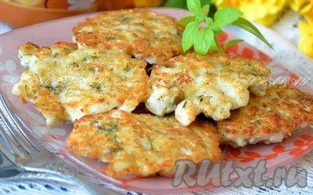 Подавать готовые рубленные котлеты из рыбы с цветной капустой с любым гарниром по вкусу. Очень вкусно, советую попробовать.