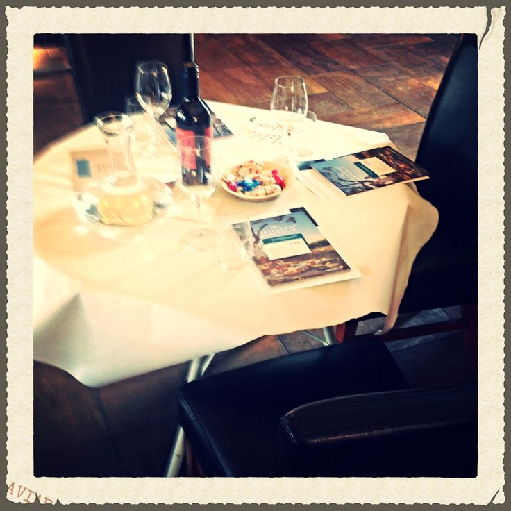 Your table is ready!  All set up for SATIC's presentation of #restaurantaustralia  #msvwine