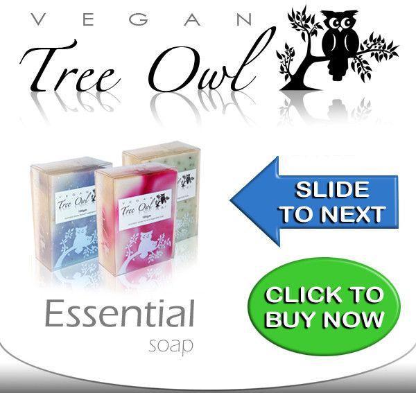 Vegan Tree Owl soap