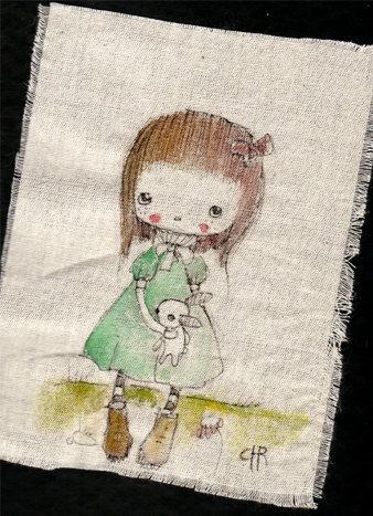 Original+Pen+Ink+Fabric+acrylic+colorsby+by+ppinkydollsart+on+Etsy,+$9.50