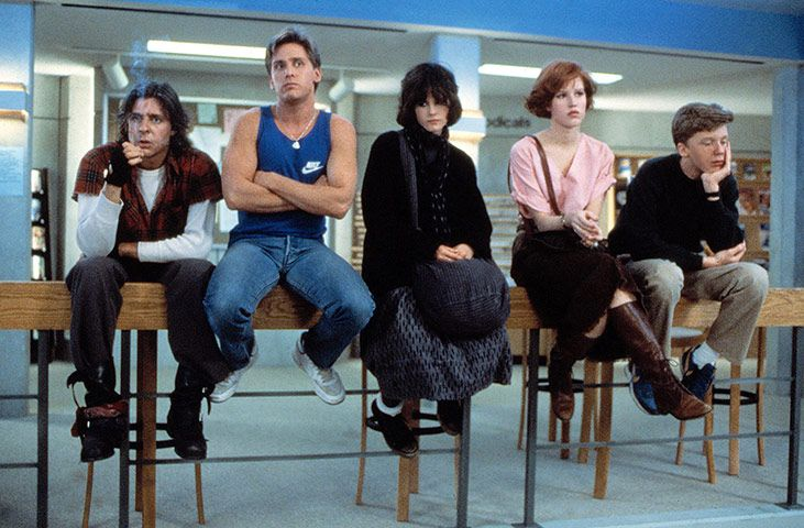 80s classic: The Breakfast Club.