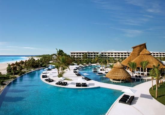 Secrets Maroma Beach Riviera Cancun nice beach and hammocks