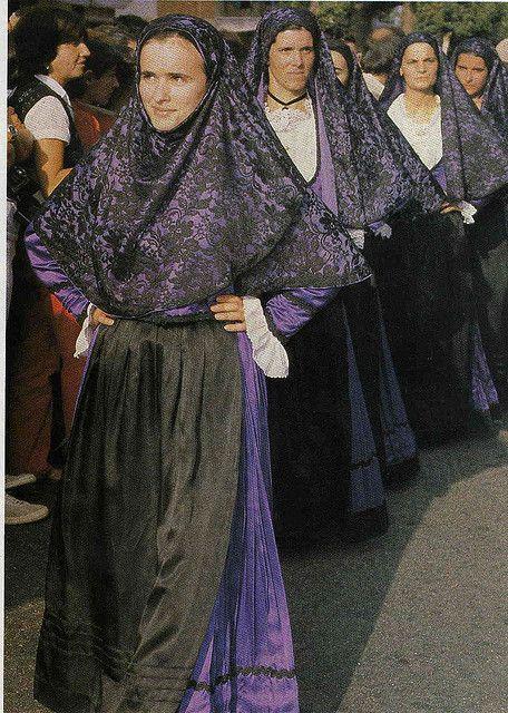 Costume tradizionale di Tertenia #Ogliastra