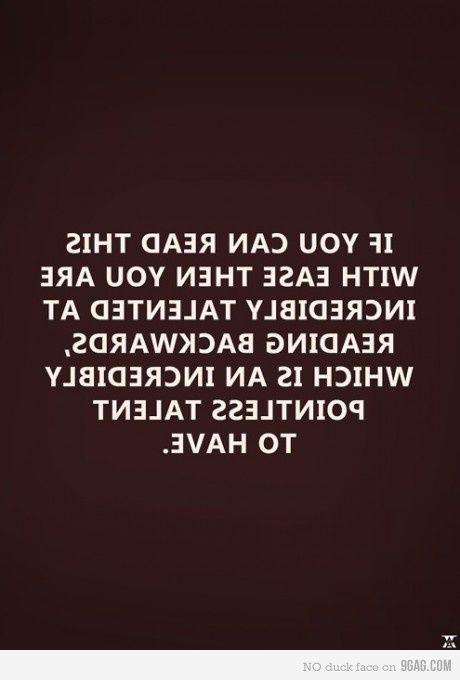 Haha, read it!