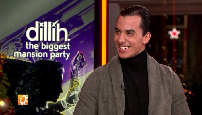Timor Steffens in RTL Boulevard: 'Tiamor'! (Dec. 19 2016) Timor Steffens is living the ultimate American Dream. He's (a.o.) a member of the jury in the Italian edition of 'Dance Dance Dance' and the creative director, and now he's creating 'The Biggest Mansion Party' on March 4 2017.  http://www.rtlnieuws.nl/boulevard/laatste-videos-boulevard/timor-organiseert-the-biggest-mansion-party