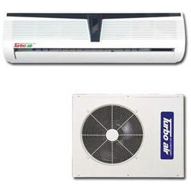 Turbo Air Ductless Mini Split Air Conditioner Tas-18v - 18000 Btu 13.1 Seer by Turbo Air Inc. $959.00. Turbo Air Ductless Mini Split Air Conditioner 18000 BTU Cooling Only 13.1 SEER Ductless Mini Split A/C Single Zone has Soft Dry Operation Mode top ensure dry and safe working areas. Self Diagnosis Function, Auto Operation, Sleep Mode Auto Control and 24 Hour On/Off Timer ensure safety at all times. Deodorizing Filter, Anti-Bacteria Filter and Washable Grille provide clea...