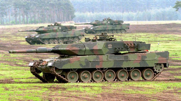Niemcy się zbroją. Bundeswehra kupi sto dodatkowych czołgów Leopard 2