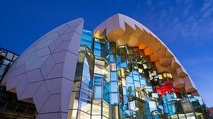 The new Geelong Library and Heritage Centre. Photo: Emma Cross