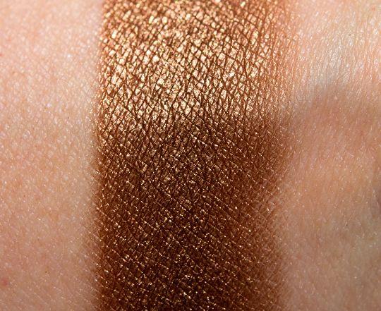 MAC Eyeshadow Swatches - Brown (Part 2) bronze