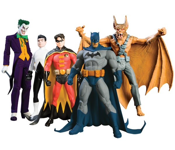 Batman Toys Action Figures | BATMAN: BATMAN & SON ACTION FIGURES, Calendar Toy Action Figure Poster ...