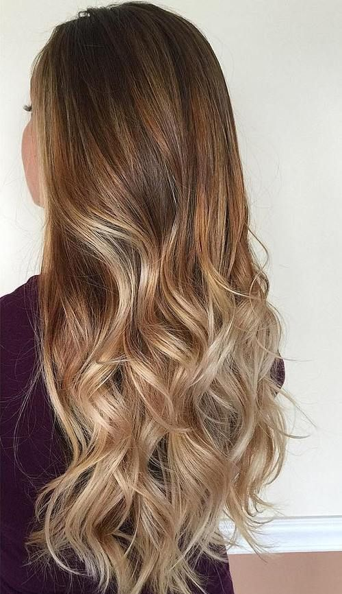 Hair Color Ideas for Brunette Long Layers Hairstyles 2017