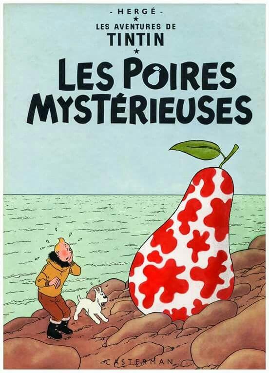 Les poires mysterieuses