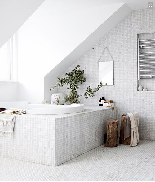 Mosaic Bathroom Tile Ideas: Best 25+ White Mosaic Bathroom Ideas On Pinterest