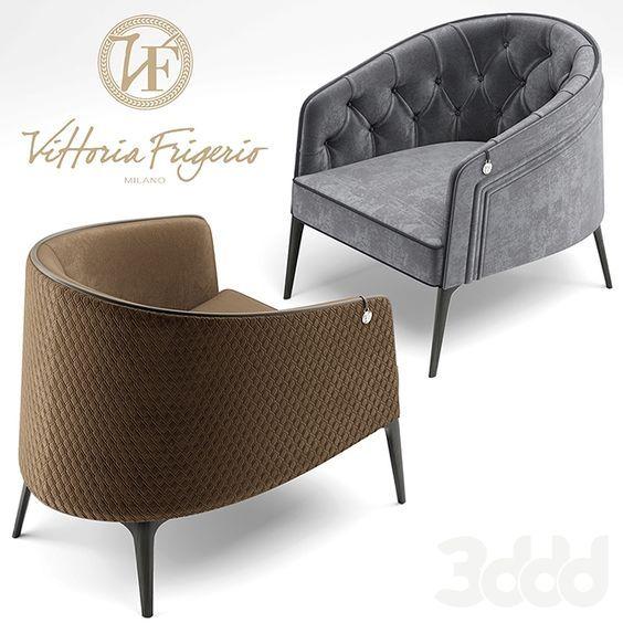 Кресла Vittoria Frigerio Descrizione Armchair Furniture