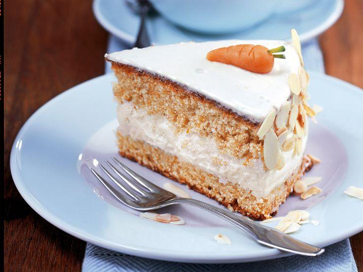 Karotten-Mandel-Torte   http://eatsmarter.de/rezepte/karotten-mandel-torte
