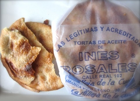 Ines Rosales Olive Oil Tortas - a mild hint of anise, a wonderful crisp texture and a slight sweetness, making it a perfect match for espresso creations – absolutely delicious.