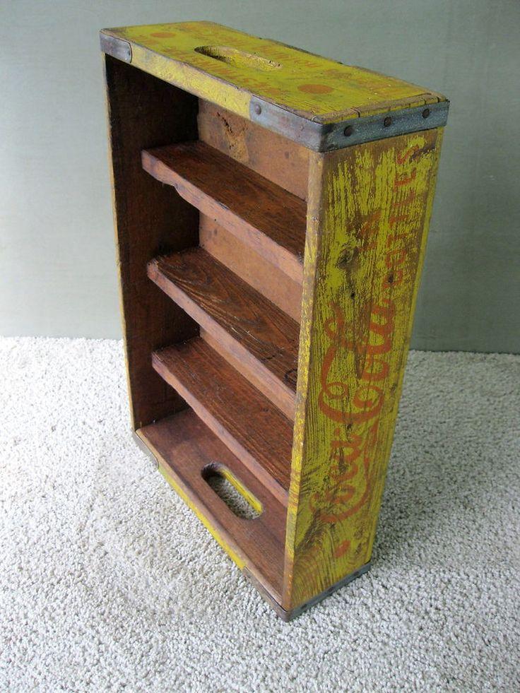Vintage COCA COLA Crate Display Rack