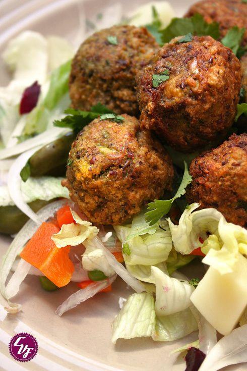 Falafel de habas | #Recetas de cocina | #Veganas - Vegetarianas ecoagricultor.com